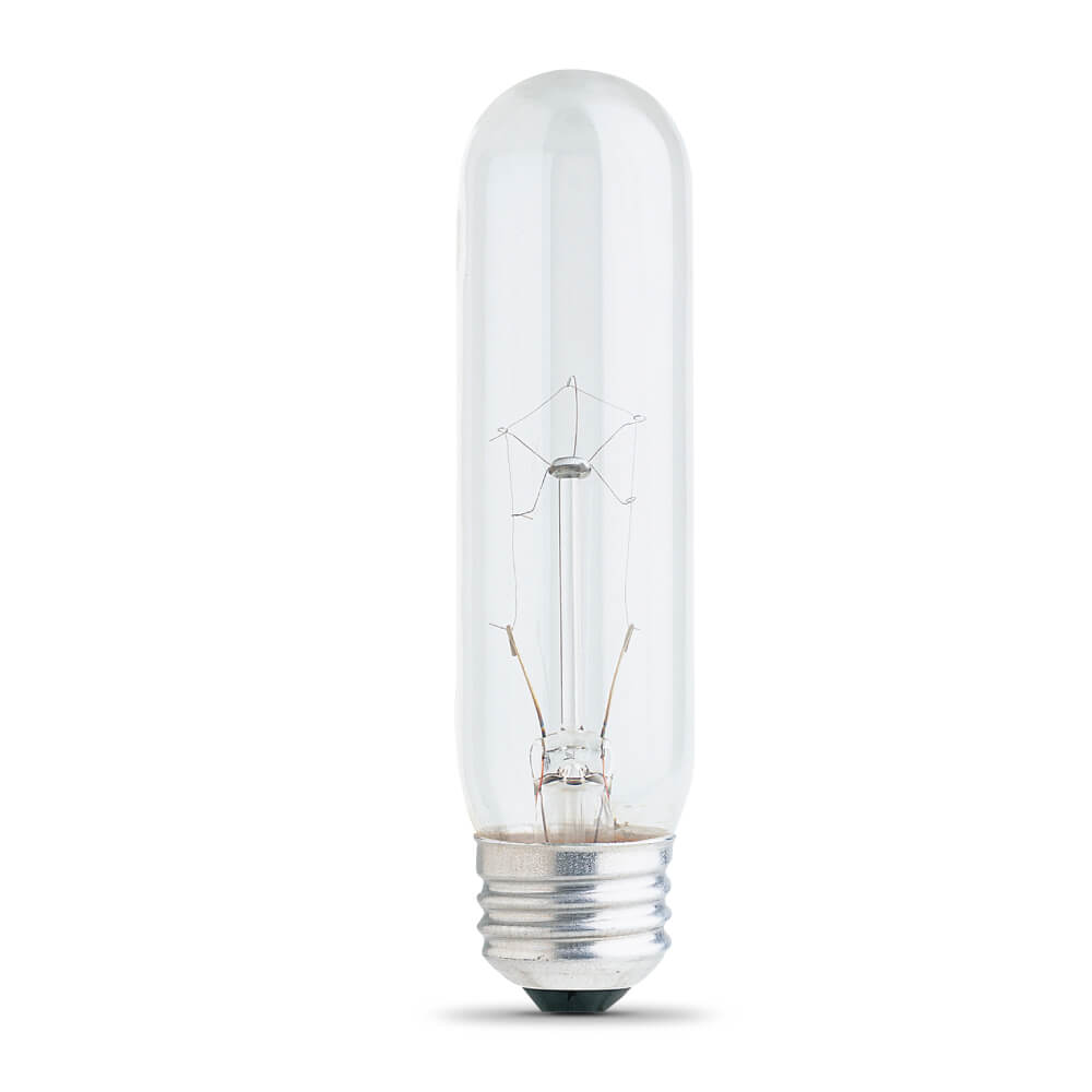 25-Watt T10 Clear Incandescent Light Bulb (English/French)