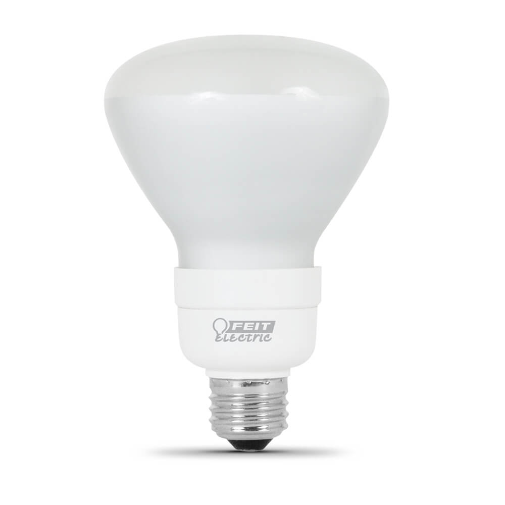 65 Watt Replacement Soft White Rubber Coated CFL