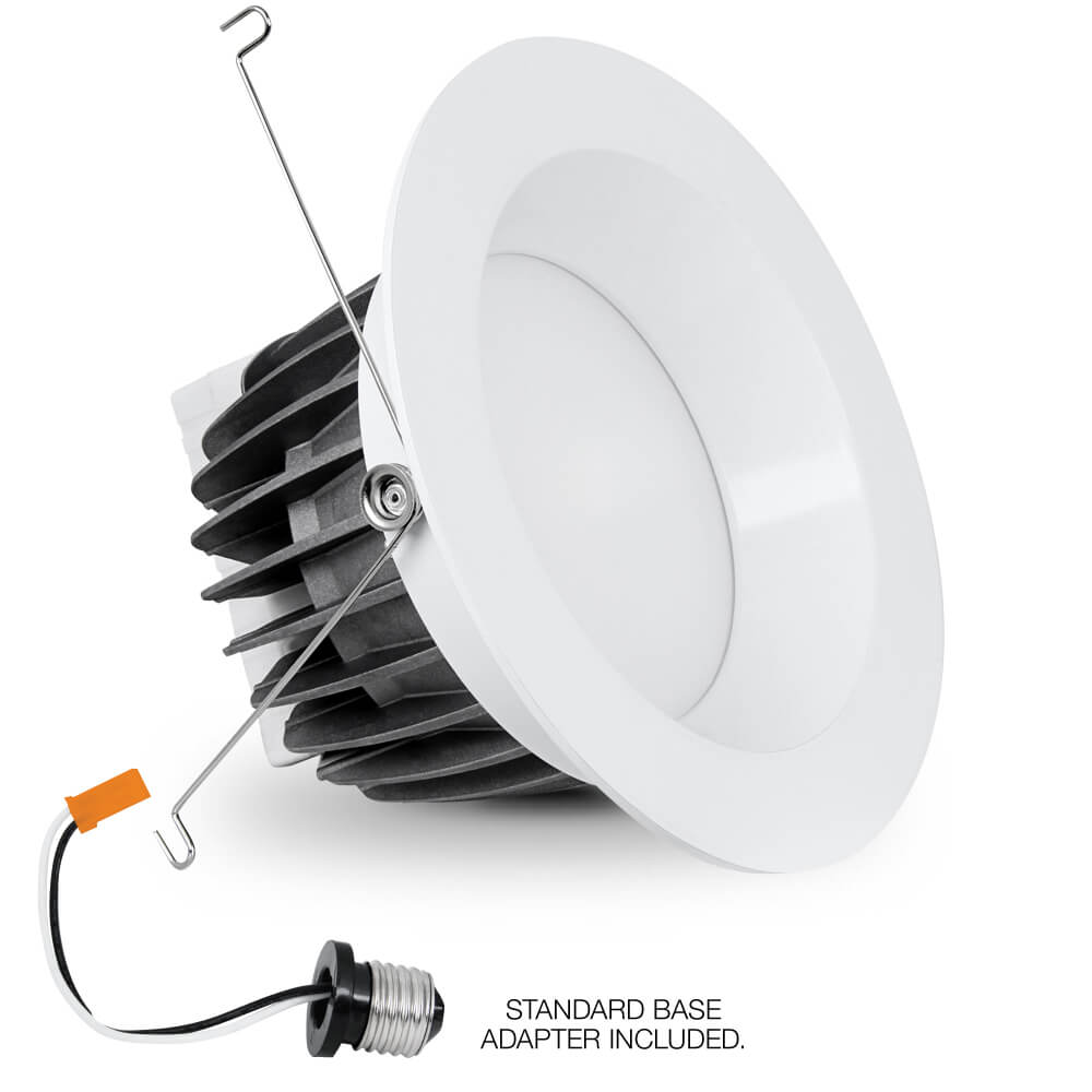 Led Light Fixture Nsn: 840 Lumen Soft White 6 Inch Dimmable Recessed Downlight