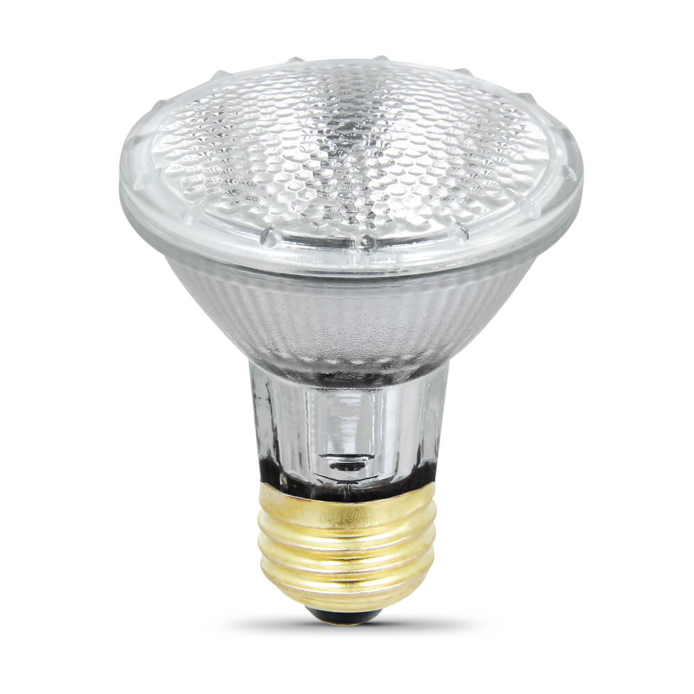 Feit Electric 50 Watt Medium Base Mr16 Dimmable Shape: 530 Lumen Energy Saving Halogen PAR20