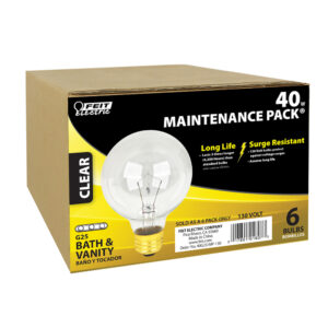 G25 incandescent light bulb