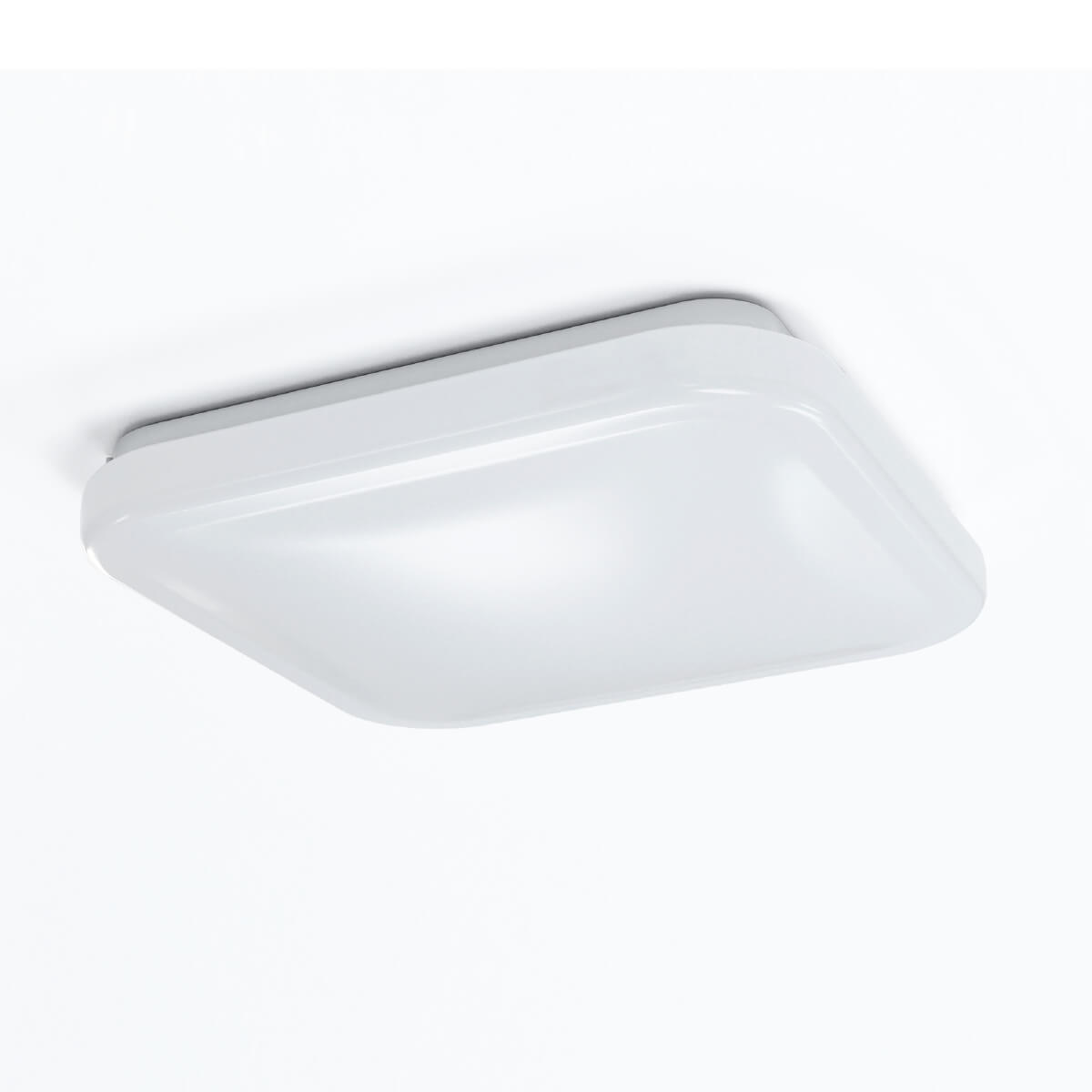 Square LED ceiling fixture
