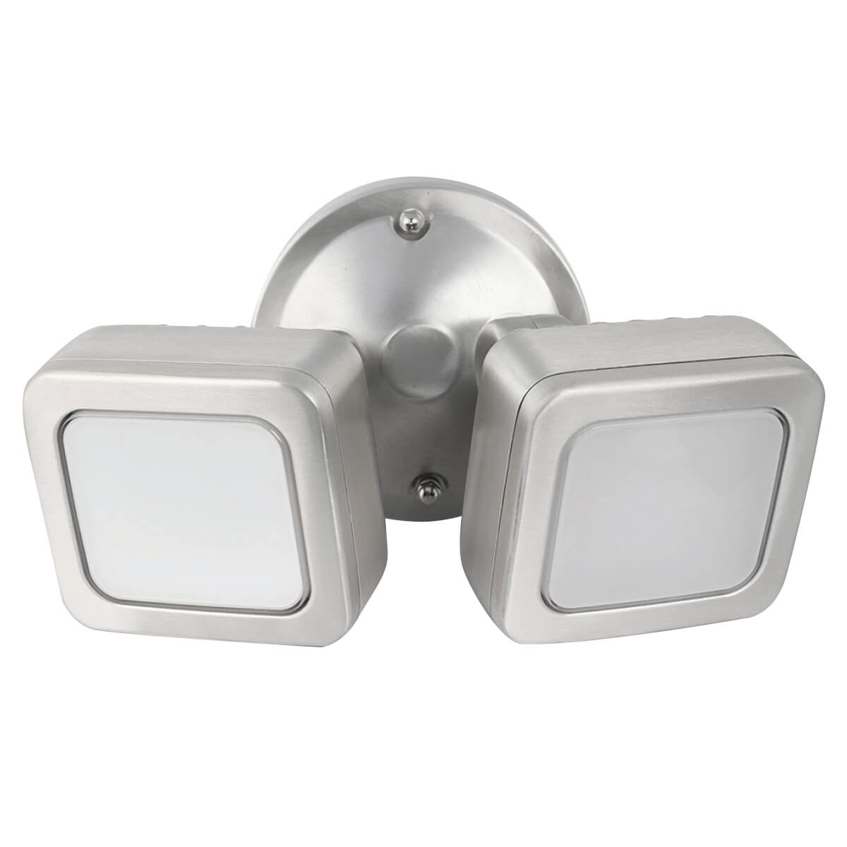 Security outdoor light fixture