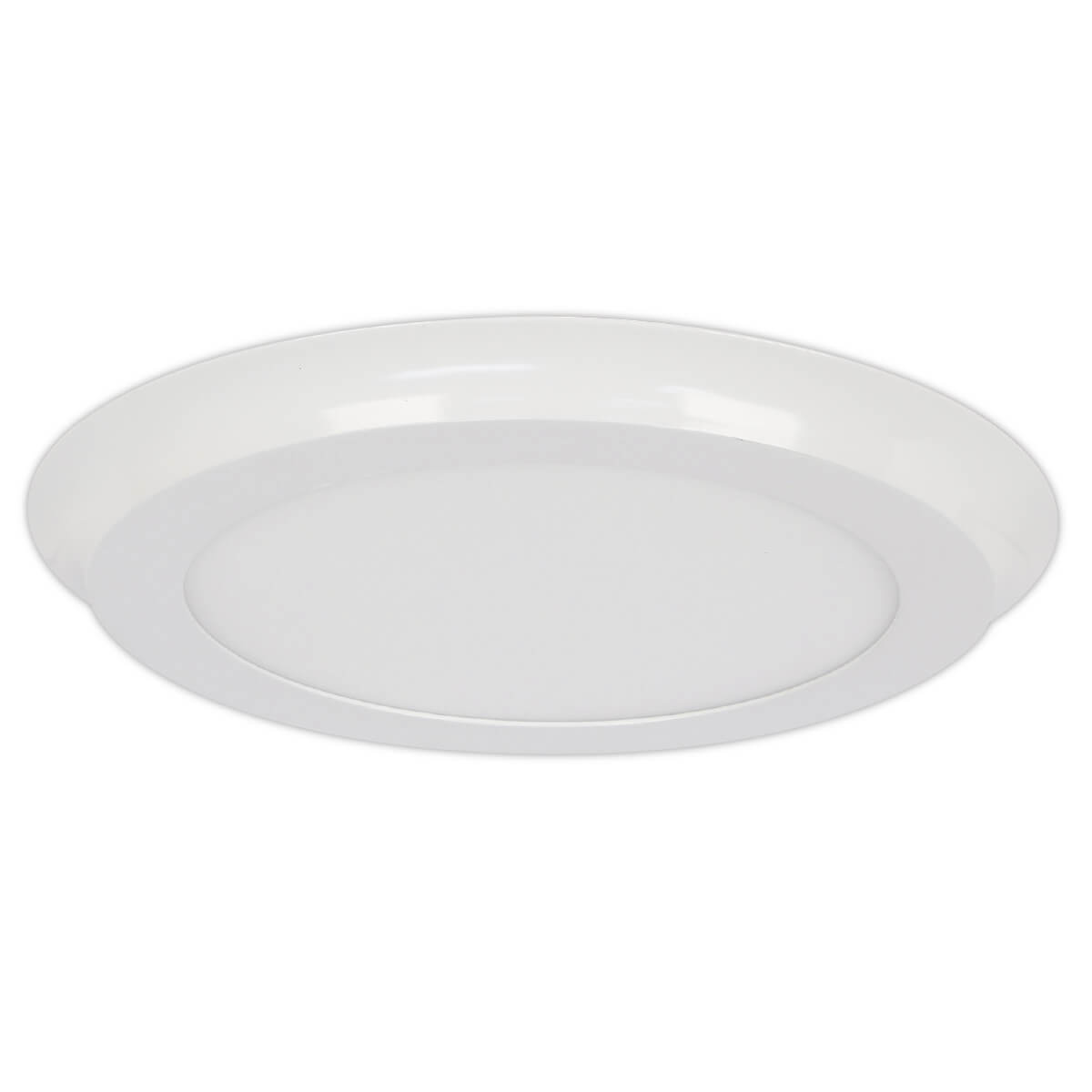 1550 Lumens 3000k Round Led Flat Panel Ceiling Fixture
