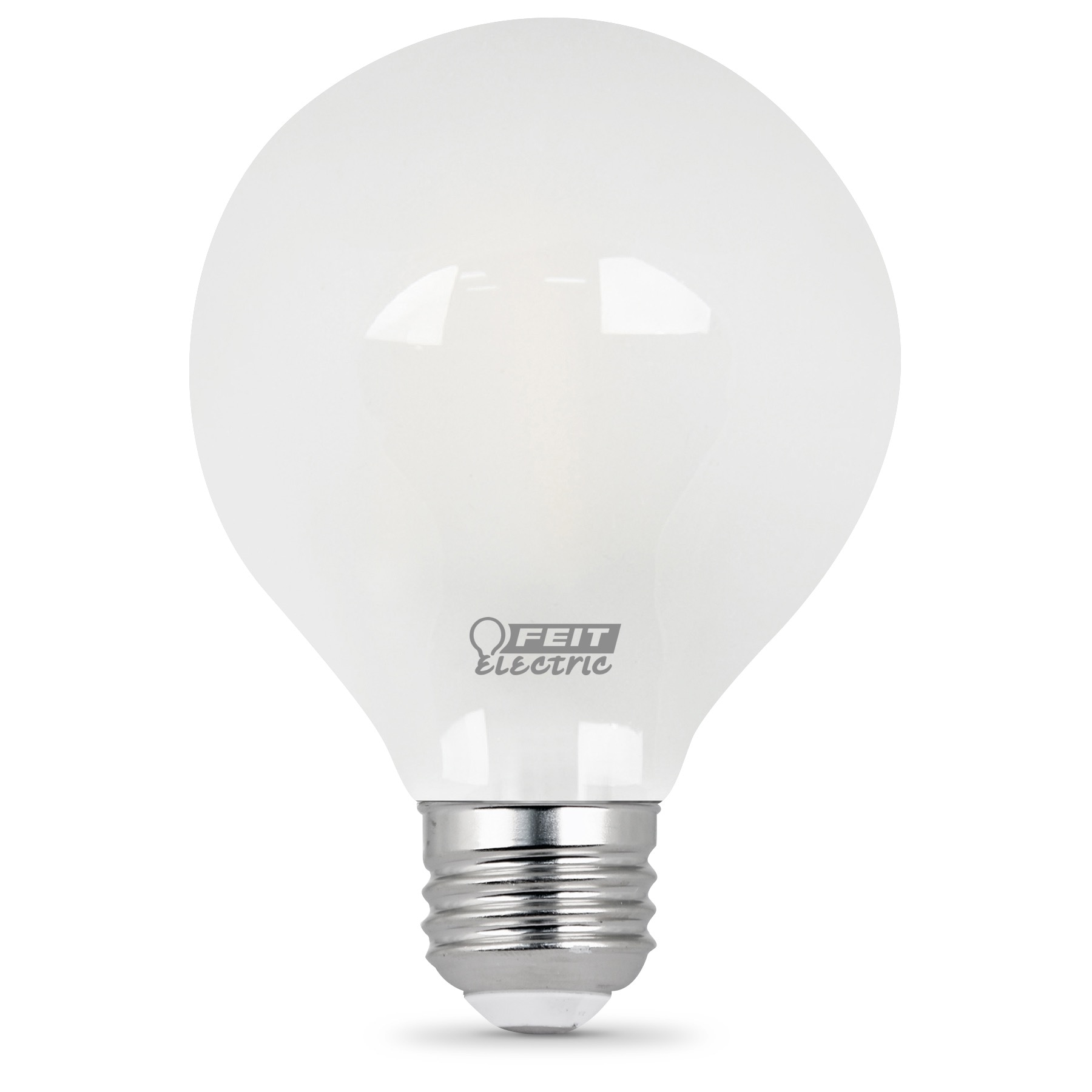 Feit Electric 40w Equivalent Daylight G25 Dimmable Clear: 300 Lumen 5000K Dimmable LED