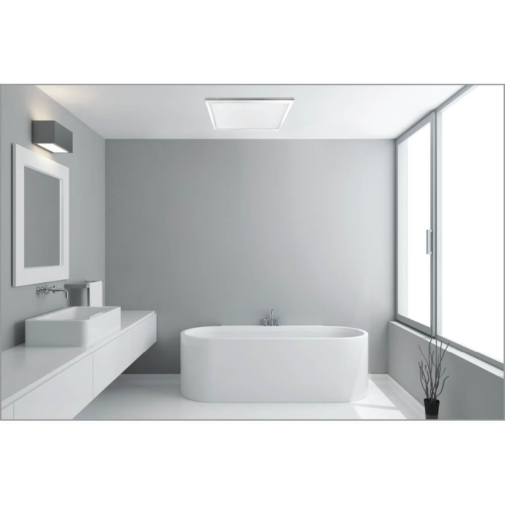 Flat panel light fixtures feit electric low profile high praise dailygadgetfo Choice Image