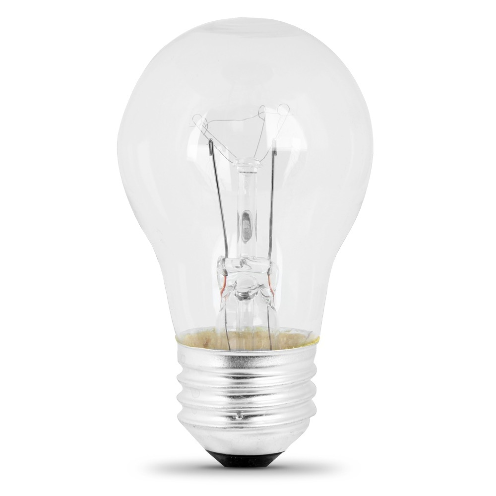 25 Watt Soft White Incandescent A15 Feit Electric
