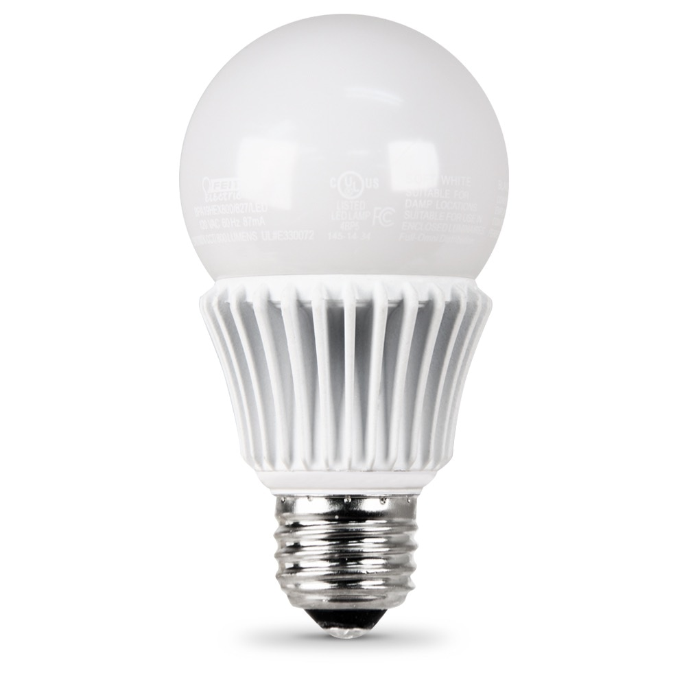 800 Lumen 2700K Dimmable LED - Feit Electric