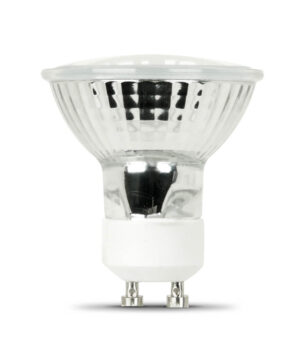 50 Watt Dimmable Bright White MR16 GU10 Base Halogen Reflector