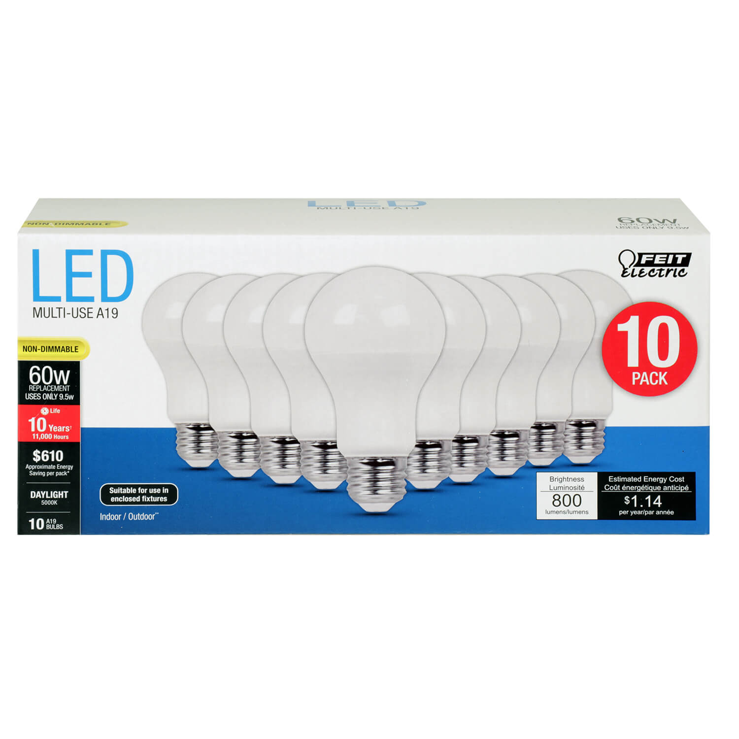 Led Shop Lights Causing Radio Interference: A800/850/10KLED/10 800-lumen-5000k-non-dimmable-led
