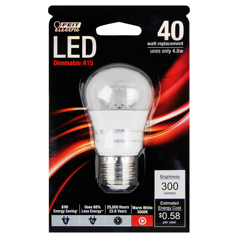 300 Lumen 3000k Dimmable Led Feit Electric