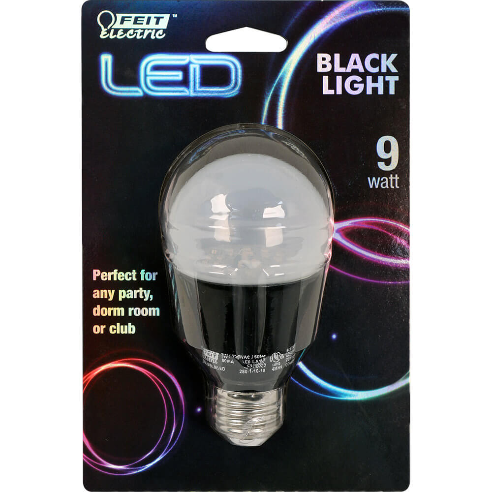 Black Light Led A19 Feit Electric