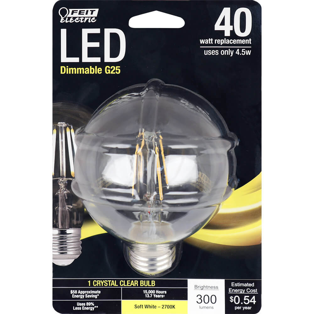 Feit Electric String Lights Dimmable : 300 Lumen 2700K Dimmable LED - Feit Electric