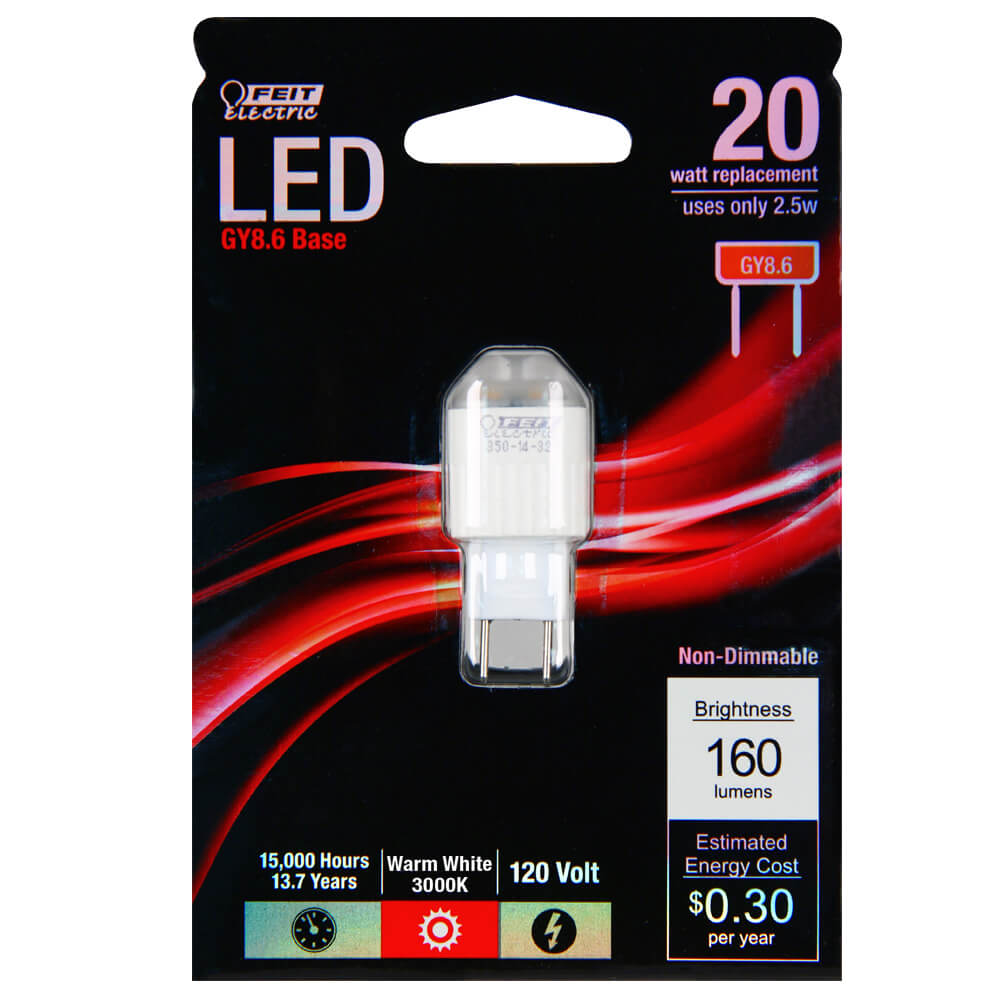 160 Lumen 3000k Non Dimmable Led Feit Electric