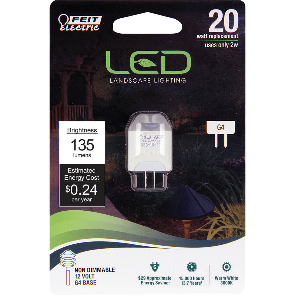 135 Lumen 3000k Non Dimmable Led Feit Electric