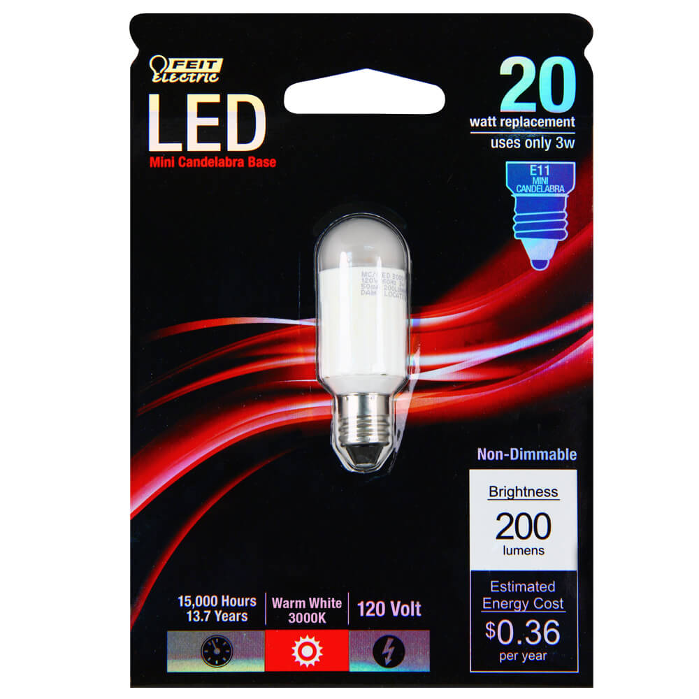 200 Lumen 3000k Non Dimmable Mc Led Feit Electric