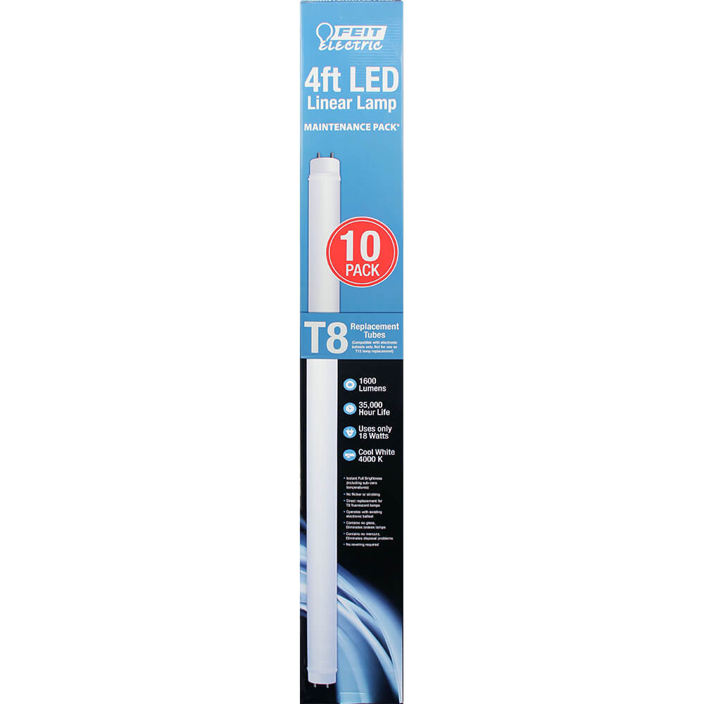 4ft Led 4000k Linear Tube Feit Electric