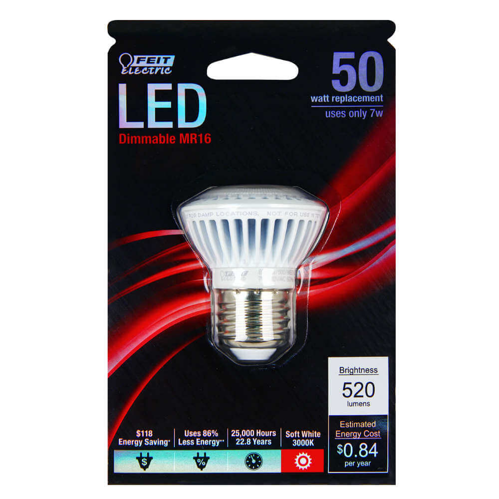 520 Lumen 3000k Dimmable Led Feit Electric