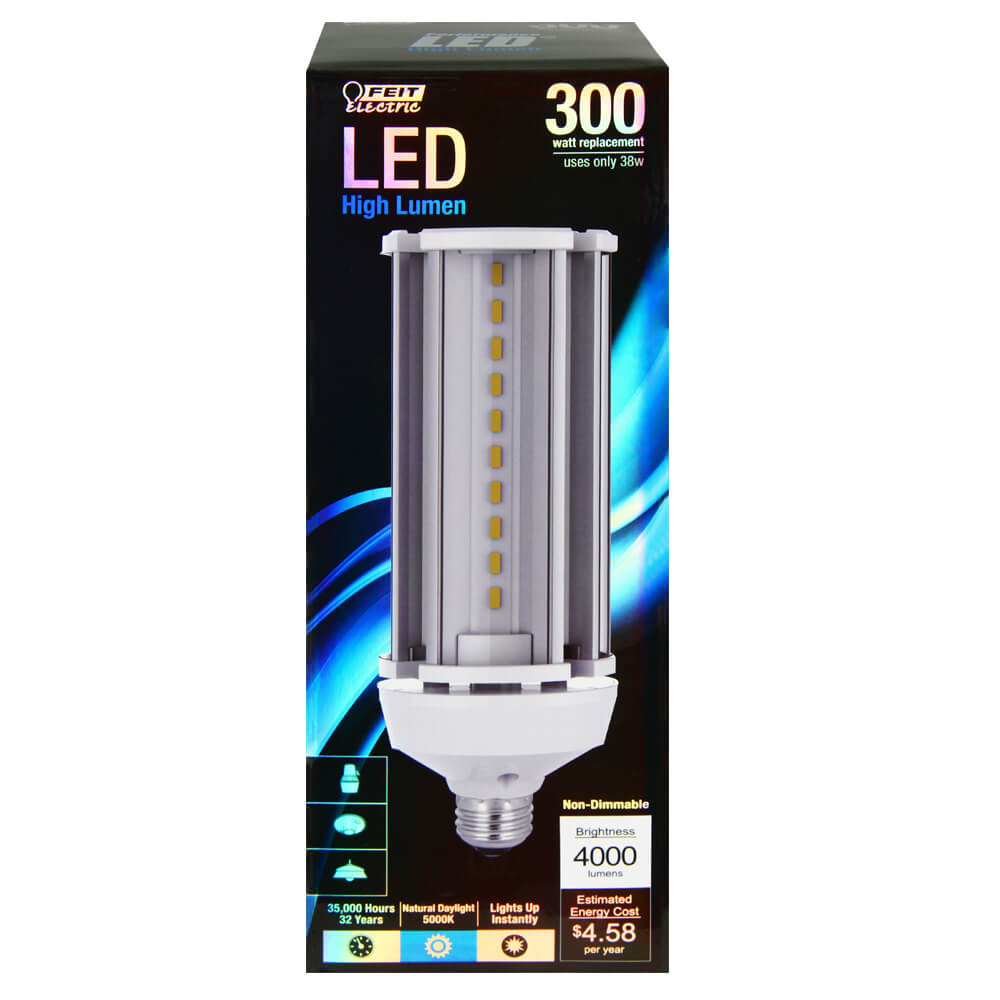 4000 Lumen 5000k Non Dimmable Led Yard Light Feit Electric