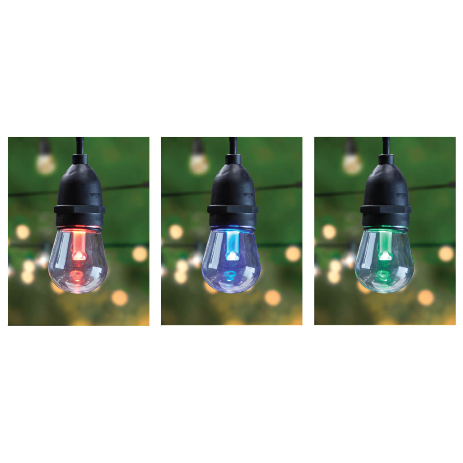 Feit Electric String Lights Dimmable : 30 Foot Color Changing LED String Lights - Feit Electric
