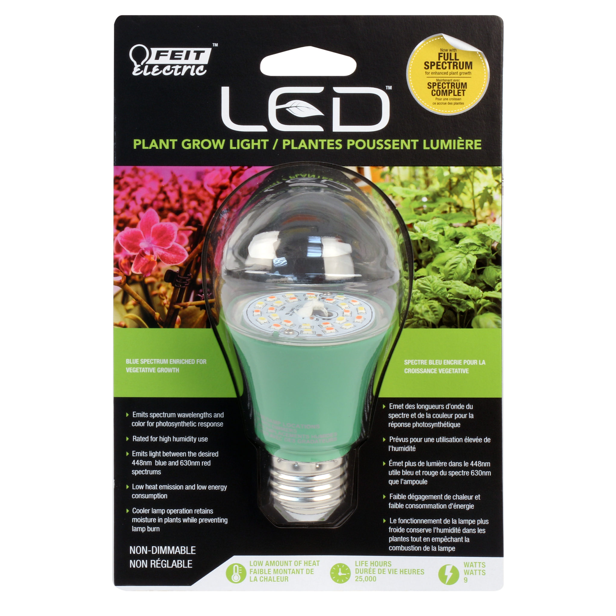Non Dimmable A 19 Led Plant Grow Light Feit Electric
