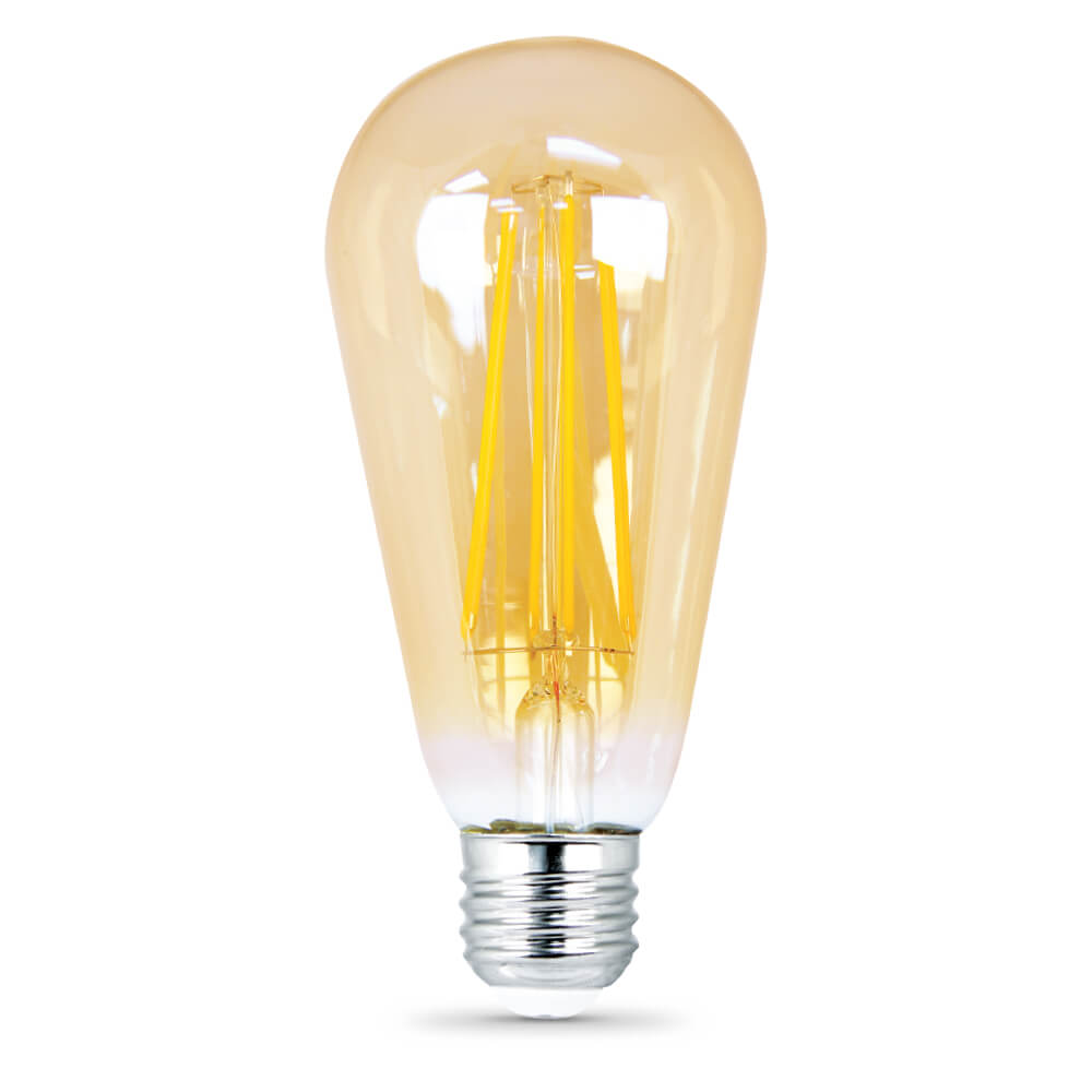 470 Lumen 2200k Dimmable Vintage Led St19 Feit Electric