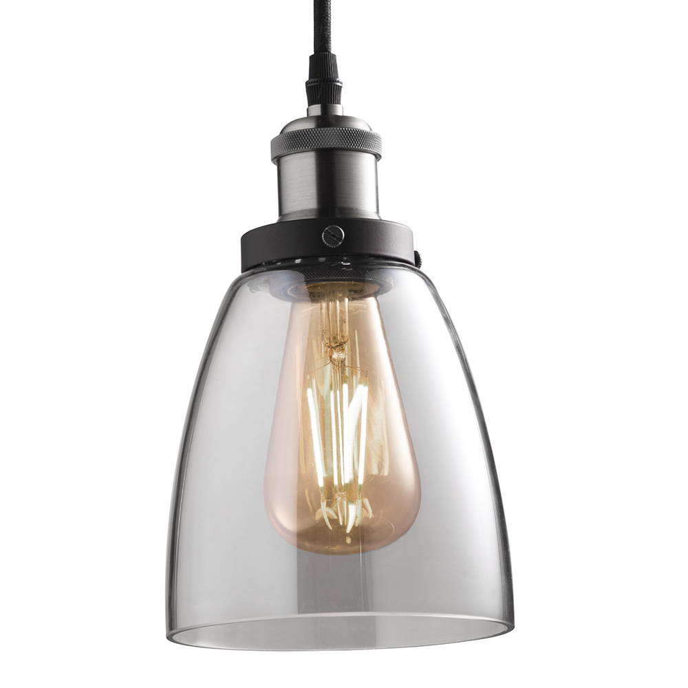 LED Vintage ST19 Bulb And Pendant