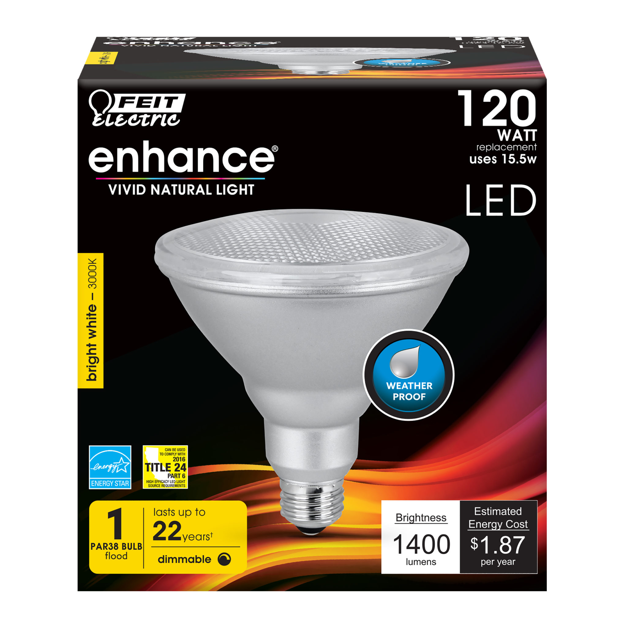 1400 Lumen 3000k Par38 Feit Electric