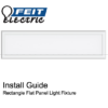 Rectangle Flat Panel Installation Guide