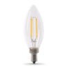 100 Watt Equivalent Soft White Decorative Chandelier Blunt Tip LED