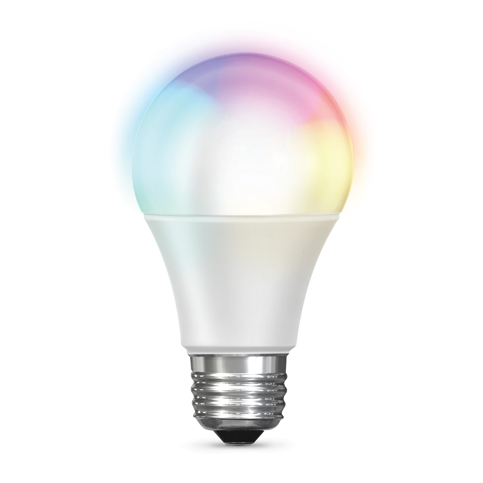 No Hub Required FEIT Electric Smart WiFi LED Color Changing and Dimmable A19 Light Bulb Compatible with Alexa and Google Assistant