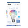 60 Watt Equivalent Color Changing and Tunable White A19 Alexa Google Smart Bulb