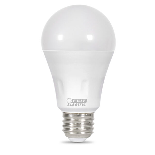40 W Equivalent Warm White or Green Laser A19 LED Light Bulb