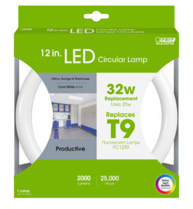 Circline fluorescent replacement LED - Feit Electric