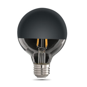 Feit Electric G25 black top decorative LED
