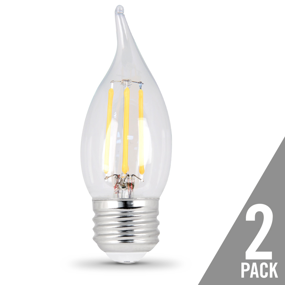 Feit Electric Enhance Glass Filament light bulb