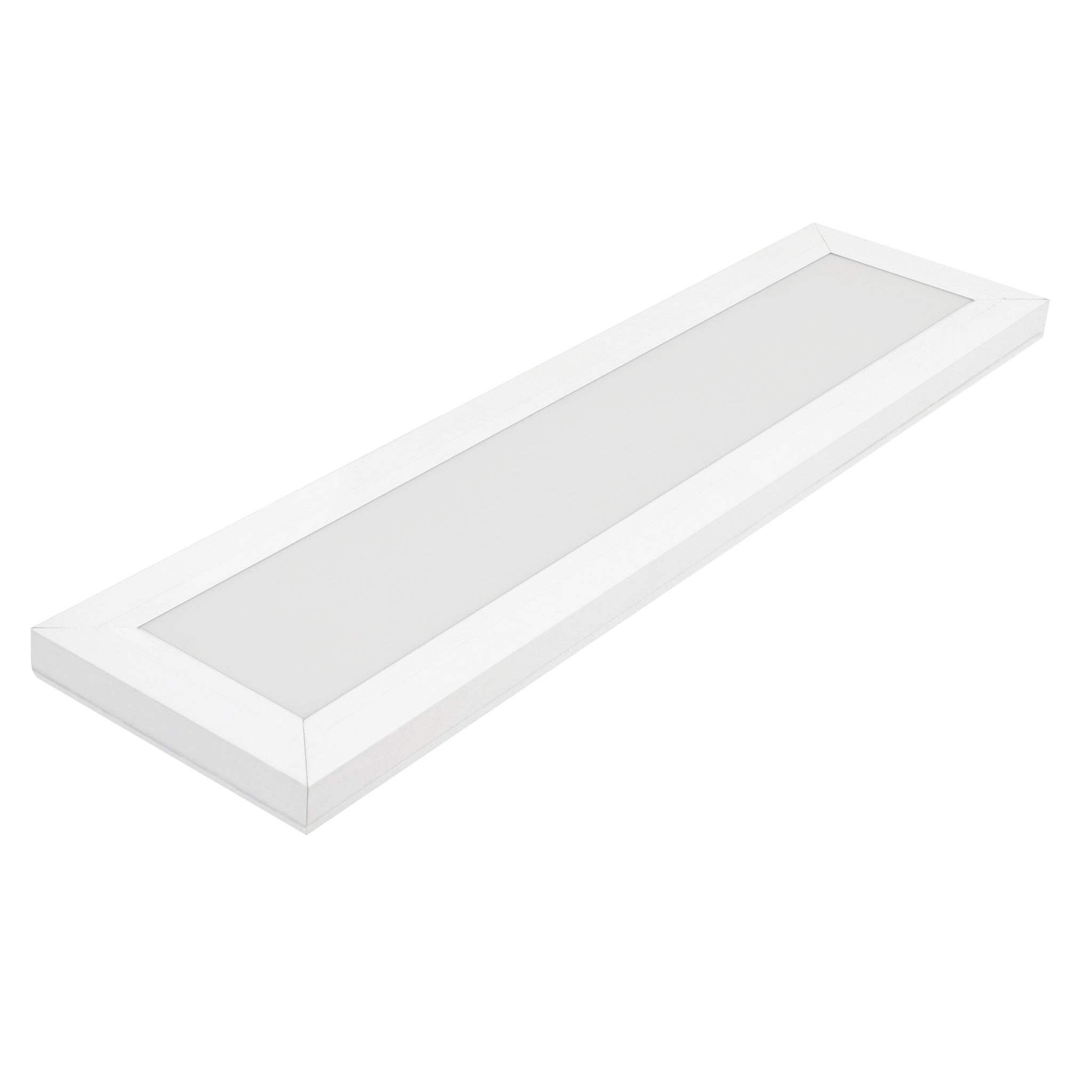 0 5 Ft X 2ft White Integrated Led Color Selectable Flat