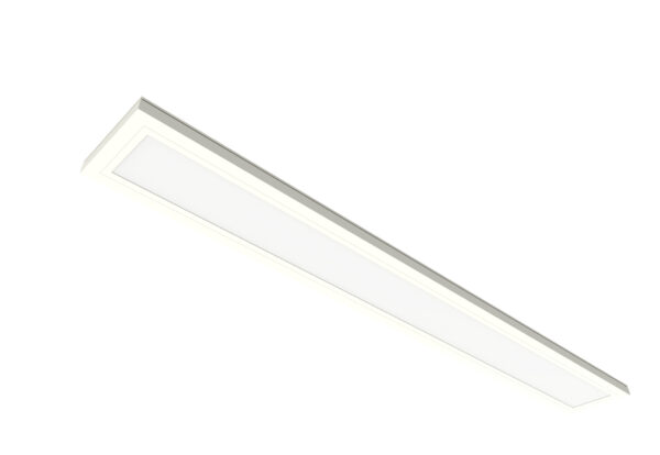 Feit Electric 0.5 ft x 4ft White 1-Light Integrated LED Color Selectable Flat Panel