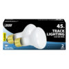 Feit Electric 45 Watt Soft White Frost R20 Dimmable Incandescent Flood Light Bulb (2-pack)