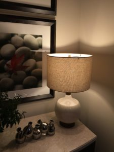 Feit Electric bulb in table lamp