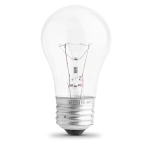 40 watt clear incandescent vibration long life