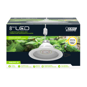 "8"" Clamp Mount LED Grow Light"