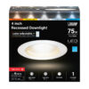 75 Watt Equivalent Selectable Dimmable Recessed Downlight