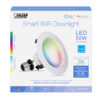 50-Watt Equivalent RGBW Dimmable Smart Recessed Downlight
