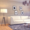Living room floor lamp daylight color temp