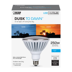 250-Watt Equivalent Daylight Dimmable Dusk to Dawn PAR38