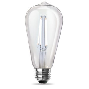 60-Watt Equivalent Daylight ST19 Clear Filament LED