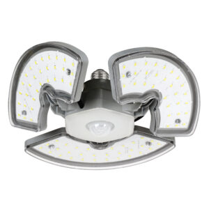 3500 Lumen Motion-Sensing Adjustable Panel Garage Light