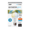 60-Watt Equivalent A19 Color Selectable LED Light Bulb With Air Purifier