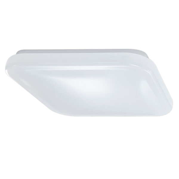 12 in. Color Selectable Square Puff LED Ceiling Fixture